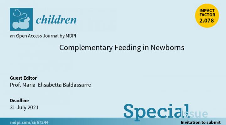 Complementary Feeding in Newborns